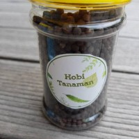 pupuk tanaman organik black plus / hobi tanaman