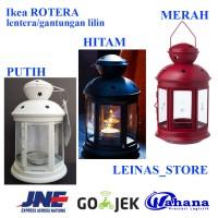 IKEA ROTERA tempat lilin gantung / lentera / gantungan lilin / lampu