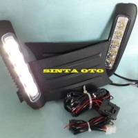 Lampu LED DRL Fog Lamp Lampu Kabut Honda Jazz RS 2012 2013 2014