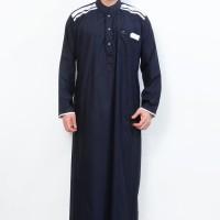 Jubah Cordova Navy Pakaian Gamis Pria Al-Isra