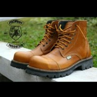 Jual Sepatu Pichboy boots underground tan original handmade Diskon Murah