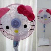 Jual Sarung Cover Pelindung Jaring Kipas Angin Hello Kitty Murah