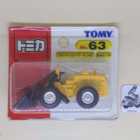 DieCast Tomy Tomica Furukawa Wheel Loader No. 63 China 1:79 (SD145)