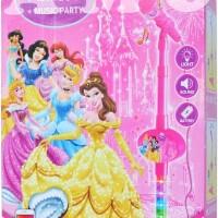 Set mic Microphone Karaoke Seri Princess Pink Single Seru