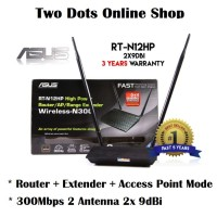 Asus RTN12HP Wireless Router Extender Access Point WiFi RTN-12HP N12HP