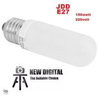 JDD E27 220v 150w Studio Flash modeling lamp bulb - 3200k