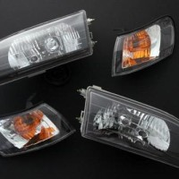 HEADLAMP GREAT COROLLA AE101 KRISTAL SMOKE