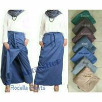 Rok Celana Bahan Katun Halus/ Adem/ Model 2 in 1/ Lucu