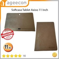 Softcase leather kulit motif Tablet Axioo 11 Inch elegan classic murah