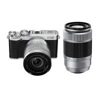 Jual Fujifilm X-A2 Double Lens 16-50mm & 50-230mm (Silver) Grosir Murah