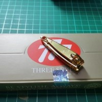 777 - Gunting Kuku Ori Korea Gold / Emas ( Kecil ) N602G