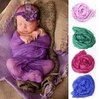 Jual Special Baby newborn photo props wrap lace tassel blanket Murah