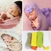 Jual Baru Baby newborn photo props wrap lace tassel blanket Murah