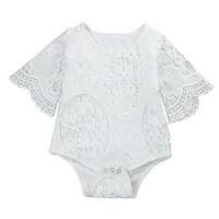 Jual Baru Jumpsuit bayi import lovely lace Murah