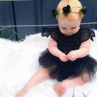 Jual Paling Laris Jumpsuit bayi tutu lace import Murah
