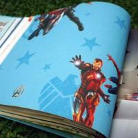 Wallpaper promo motif The Avengers, cocok untuk kamar anak!