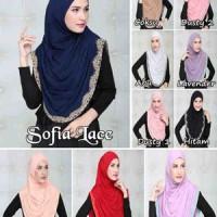 Jual Hijab Sofia Lace Murah Murah