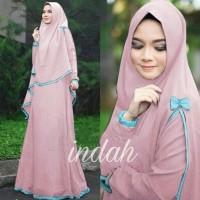 Indah Syari Gamis Wanita Baju Muslim Rrs64