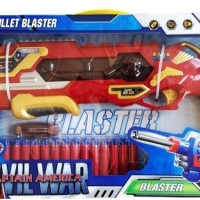 Jual Mainan Anak Soft Bullet Blaster Avenger Iron Man Besar SB315 Murah