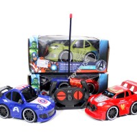 Jual Mainan Mobil RC Avengers Hulk, Spiderman, Iron Man,Capt America ZR2043 Murah
