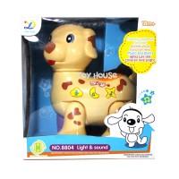 Jual Mainan Bayi Animal Paradise Cartoon Dog - Mainan Anak Murah