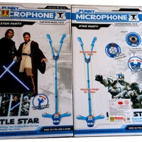 Jual Mainan Anak Microphone Double Star Party Little Star - Mic Star Wars Murah