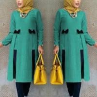 Jual Baju Muslim Cewek Syari Hijab  [Tunik Kiera Tosca SW] tunik wanita Murah