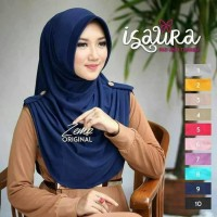 Pakaian Wanita  Jilbab Instan kerudung Hijab Isaura Model Terbaru