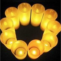 Jual JUAL MURAH !!! Mini Lilin elektrik Slim Sensor tepuk tiup dekorasi int Murah
