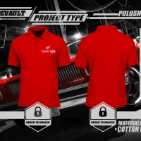 MURAH Poloshirt Kaos Polo Bank BJB Logo Murah URBAN STORE