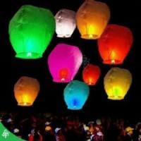 Jual Kostum Pesta  sky lantern lampion terbang merah putih 17 agustusan Murah