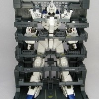 MG Gundam Unicorn OVA HD Color + MS Cage Daban Model 1/100 Master