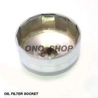 Jual (Murah) Oil Filter Socket 64 mm (Kunci Filter Mangkok) Murah