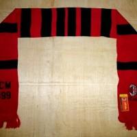 Syal GO Grade Ori Bola / Scarf bola Klub AC Milan