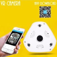 Jual VR 3D Panoramic IP Camera 1 3MP FishEye Lens WiFi CCTV 360 Degree Vi Murah