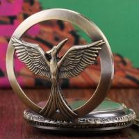 Jual Kalung Jam Pocket Vintage Hunger Games Murah