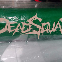 cutting sticker band deadsquad motor laptop mobil