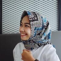 Jual Hijab segi empat motif Nangero Tribal Murah