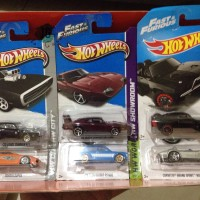 Hot Wheels Hotwheels Fast & Furious Movie Series (6pcs)
