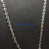 Jual kalung titanium silver rantai Murah