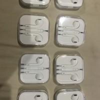 earpod / headset / handsfree iphone 1000% original ( copotan hp baru )