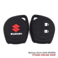Kondom Kunci Silikon Remote Keyshirt Suzuki Swift Ertiga BLACK