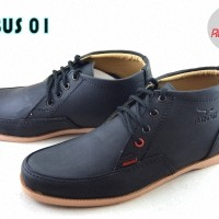 Jual Sepatu Redknot Erebus Black - Casual Pria Murah