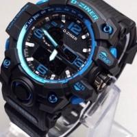 Jual jam tangan PRIA ori anti air analog D-ZINER mirage rolex alba D17 Murah