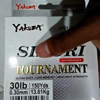 SENAR PANCING YAKUZA SINORI TOURNAMENT 30 LBS DIAMETER 0.30