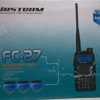 HT FIRSTCOM FC-27 Dual Band Output Power 5W FM Radio 128 Chnl