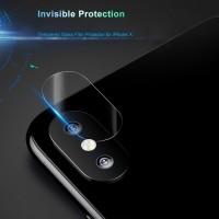 Jual  iPhone X Baseus Lens Tempered Glass Film Protector  0.15mm Murah