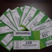 KARTU PERDANA PAKET TRI AON 1 GB + PULSA 10 RIBU KE SESAMA TRI