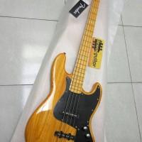 Gitar Bass Fender Jazz Bass Marcus Miller 4st (Natural)