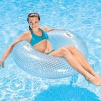 Ban Renang 114cm  Glossy Giant Crystal Tube Swimming - Intex 56264